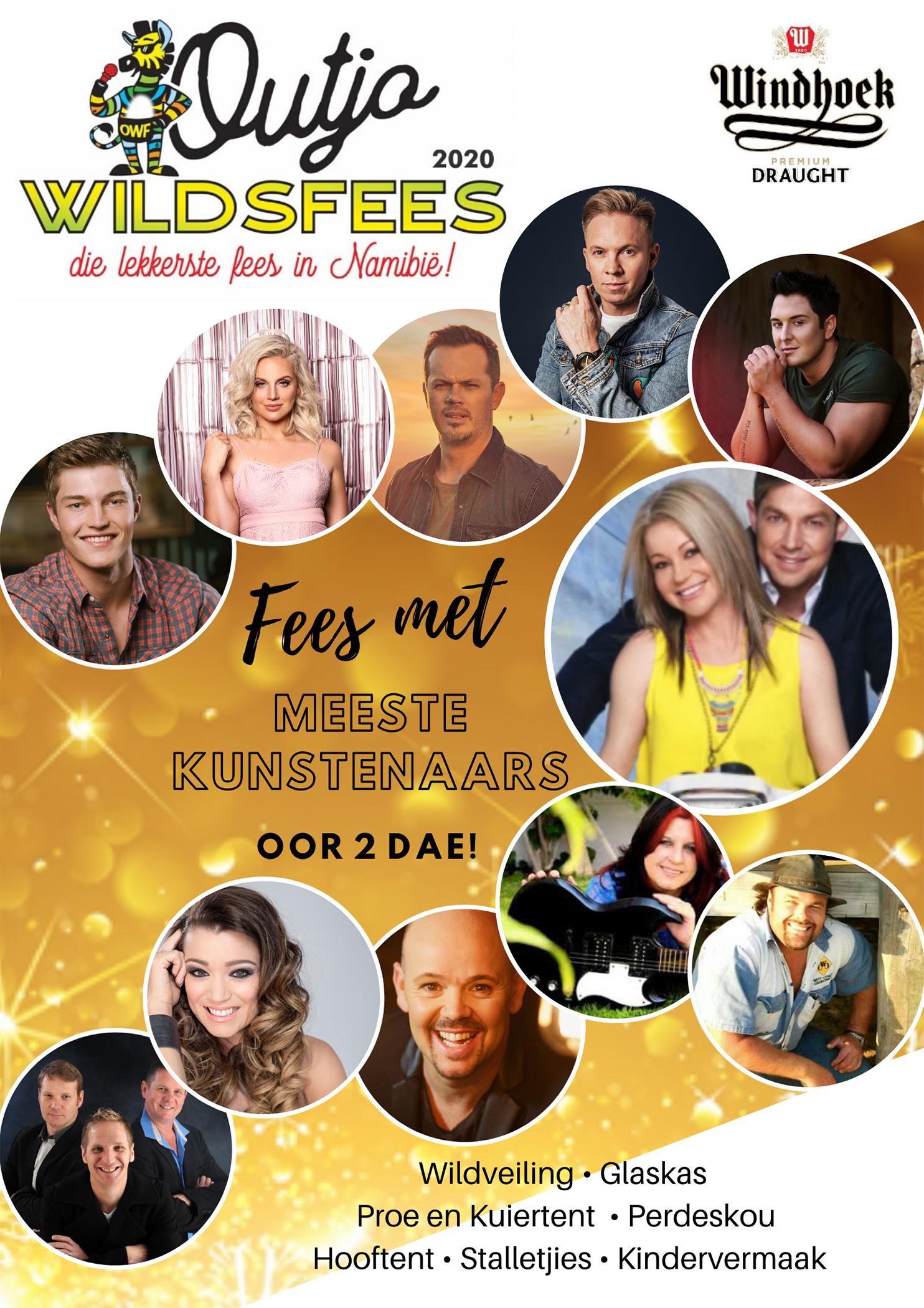 Outjo Wildsfees Poster 2020